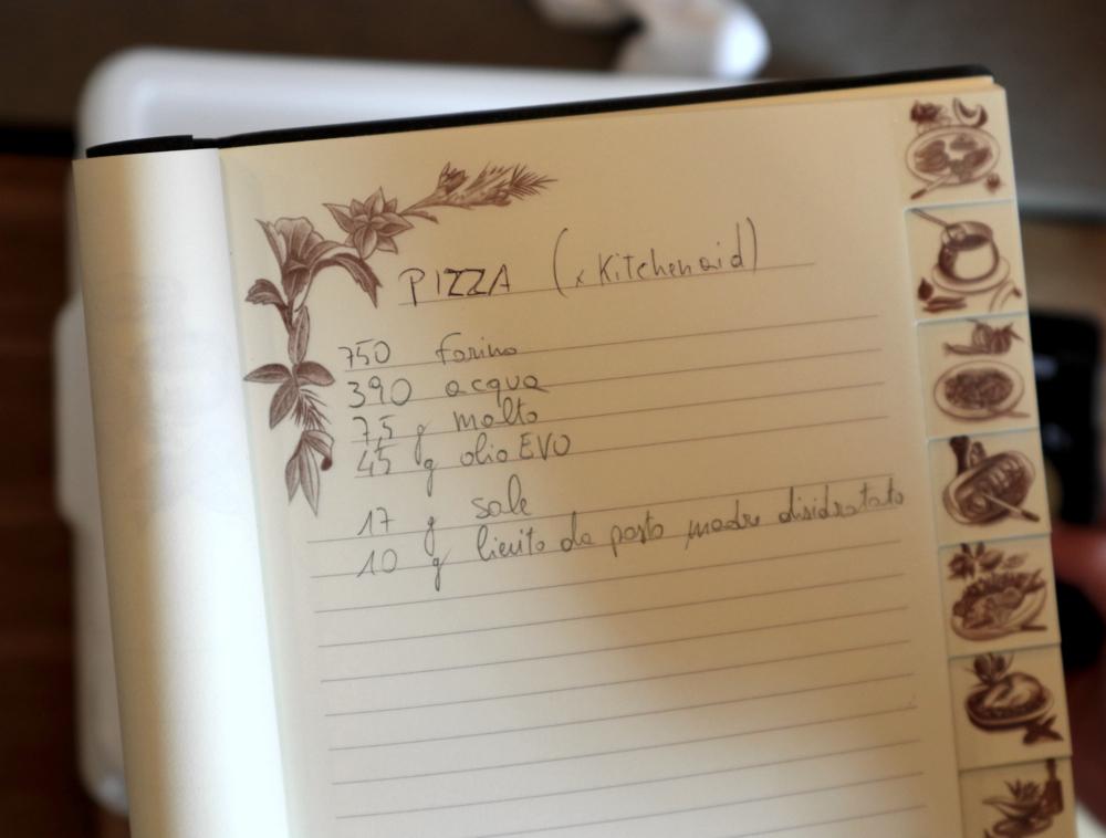 --La pizza e il suo impasto--